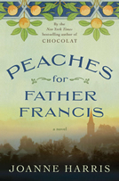 "Joanne Harris book ""Peaches for Father Francis"" - a conversation from the shed with the Chandelier"